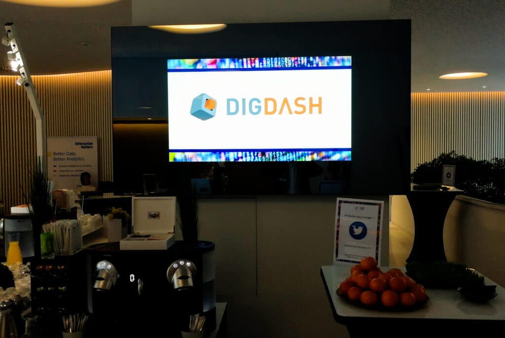 DigDash screen