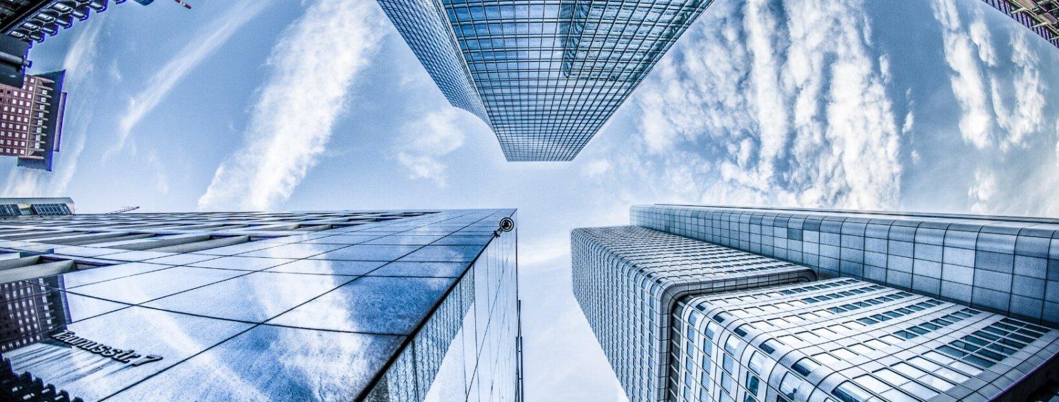 Buildings sky