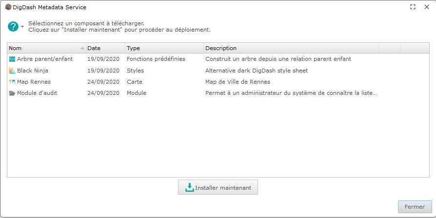 digdash metadata service