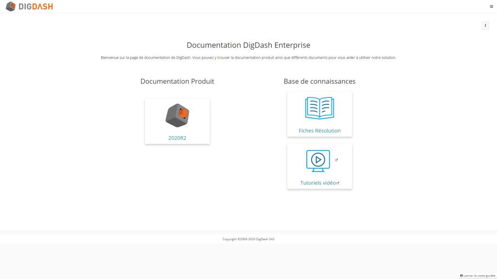 documentation en ligne digdash